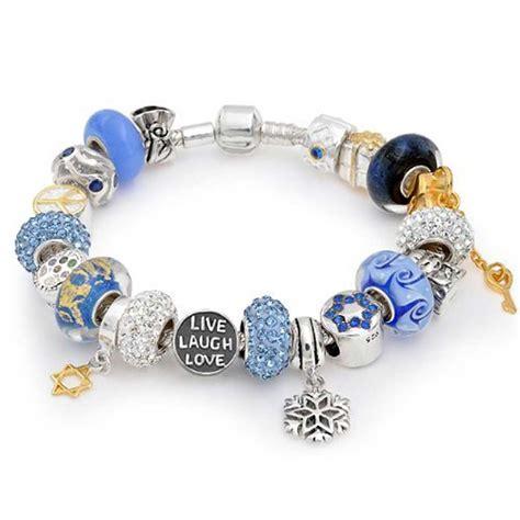 bracelets for jewelry sterling silver hanukkah bead bracelet pandora compatible