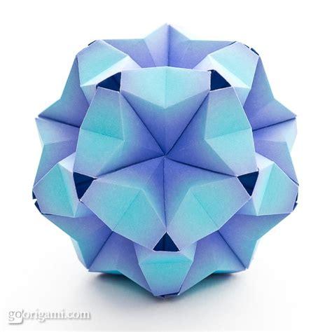 modular origami patterns fuufuki asagao kusudama by tomoko fuse go origami