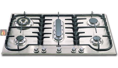 plaque de cuisson gaz 90 cm encastrable 5 foyers dont 1 foyer wok et 1 foyer poissonni 232 re ilve