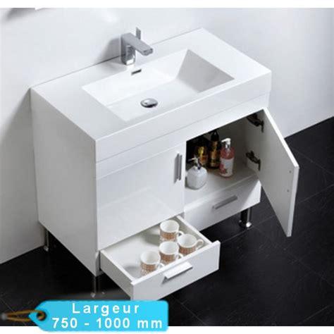 meuble de salle de bain simple vasque 224 poser klassyk cubique avec miroir masalledebaindesign fr