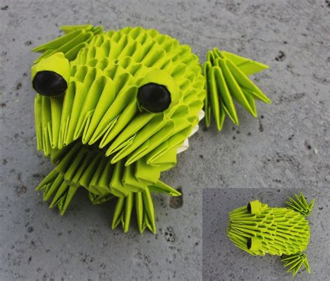 3d origami frog frog 3d origami by sophieekard on deviantart