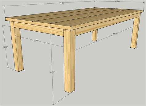 simple woodworking plans free build patio dining table plans diy plans simple gun