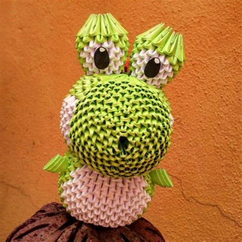 3d origami yoshi 48 best images about origami by peke 241 o on