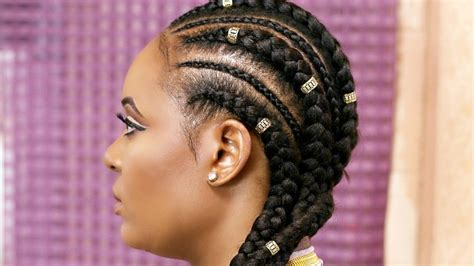 cornrows with how to cornrow with extensions feed in braids black