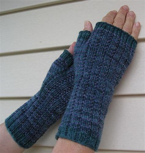 free knitting pattern for fingerless gloves on needles 17 best images about knitted gloves mittens on