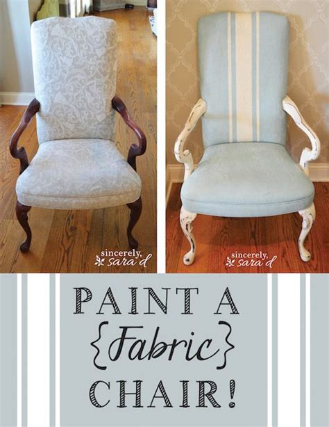chalk paint fabric paint a fabric chair with chalk paint sincerely d