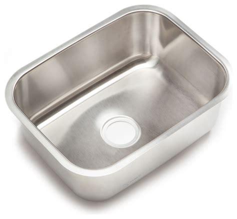 large stainless steel kitchen sinks clark stainless steel large single bowl undermount kitchen