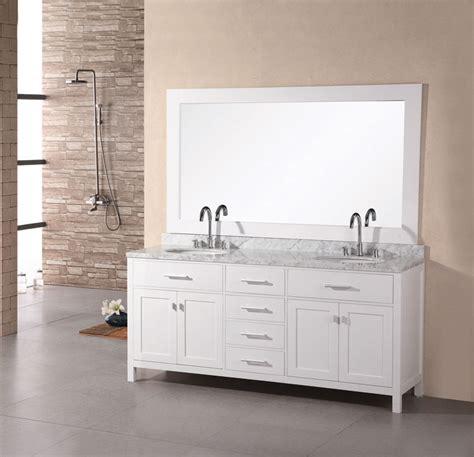white bathroom sink vanity 72 quot dec076b w sink vanity set in pearl