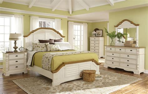 white cottage style bedroom furniture oleta cottage style bed collection