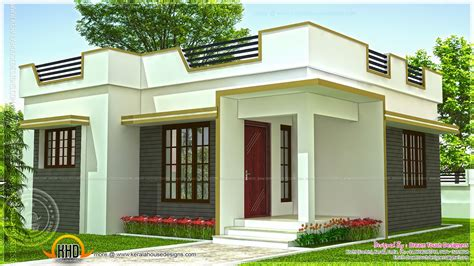 home design for cheap kerala small house low budget plan modern plans