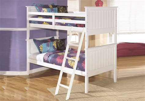 bunk beds ky lulu white bunk bed overstock warehouse