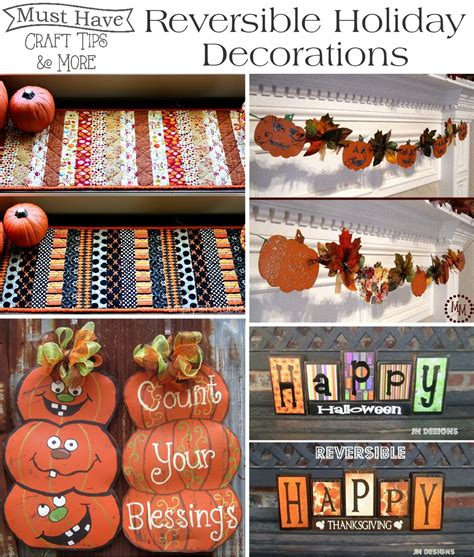 must decorations must craft tips reversible decorations
