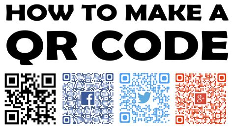 for to make free how to create a qr code 101