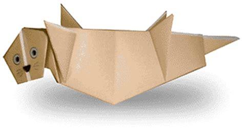 otter origami origami sea otter
