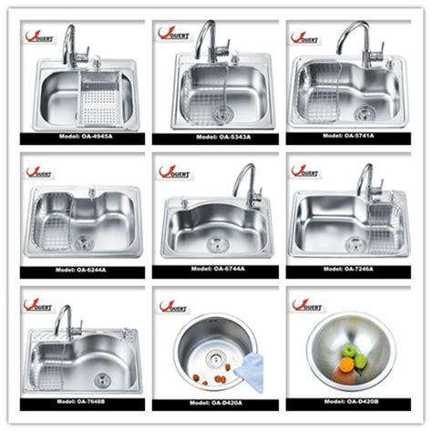 kitchen sinks types oa 5741 stainless steel single bowl sink italian kitchen