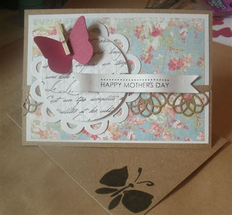 mothers cards to make using die cuts in handmade cards