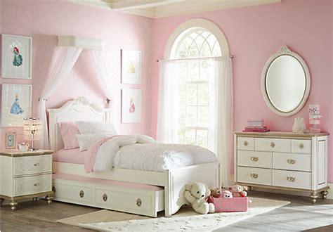 disney bedroom furniture disney princess enchanted kingdom white 5 pc panel