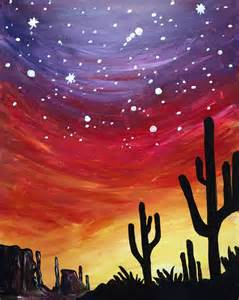 paint nite ques bar m 225 s de 1000 ideas sobre cactus drawing en arte