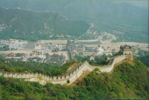 of china photos of badaling great wall china in 1999