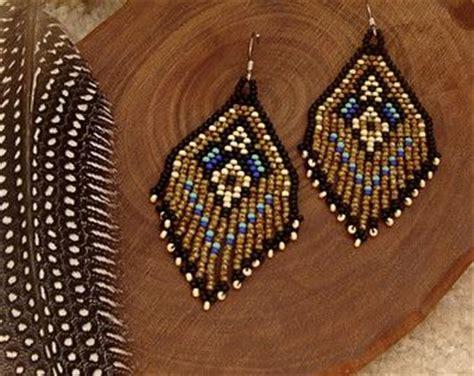 beaded fringe earrings tutorial 25 best ideas about beaded earrings on
