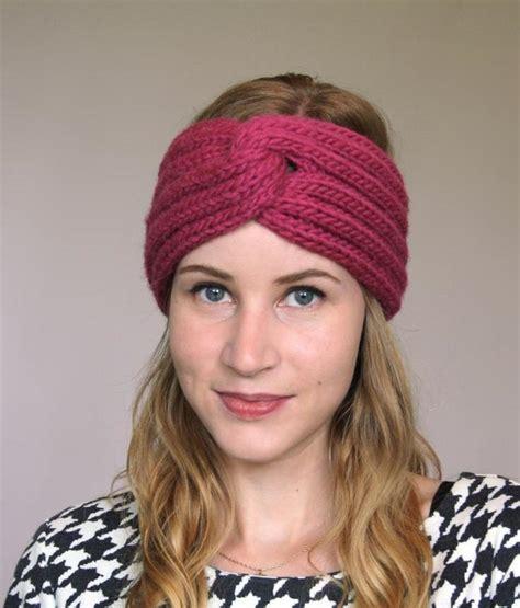 knit a headband knitted turban headband patterns a knitting