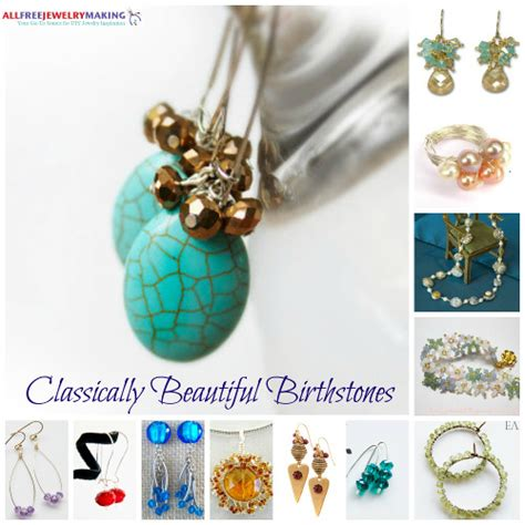 diy jewelry ideas classically beautiful birthstones 12 stunning diy jewelry