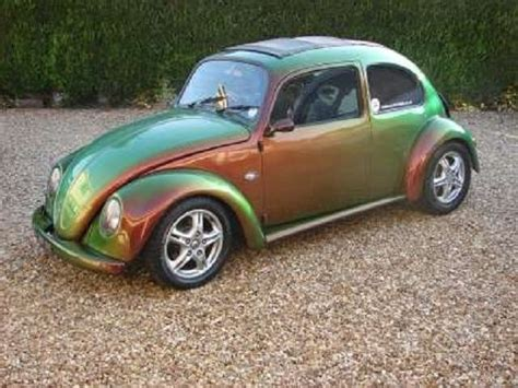 paint colors for vw beetle vw beetle with a chameleon paint iridescent
