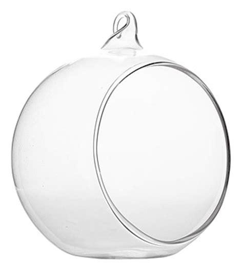 la boule sph 232 re en verre ouverte 224 suspendre ou poser noel