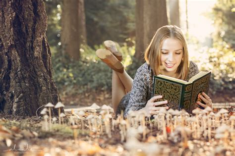 senior pictures with books whimsical high school senior photos for book