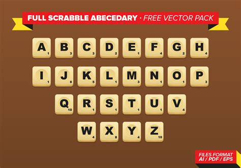 play scrabble with computer free scrabble abecedary free vector pack free