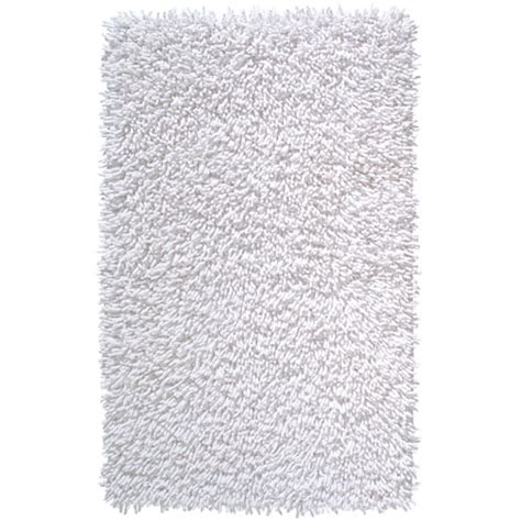 white bath rug shagi cotton bath rug white in accent rugs