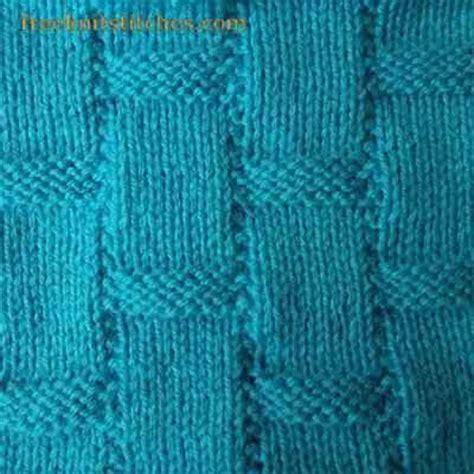 purl and knit stitch textured knit stitches