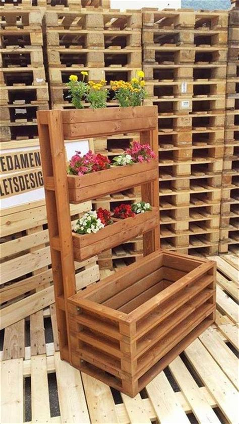 wooden pallet craft projects amazing pallet crafts in your garden recycled pallet ideas