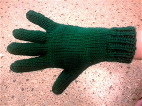 knitting pattern for childrens gloves with fingers ravelry bryanna s two needle gloves pattern by bryanna