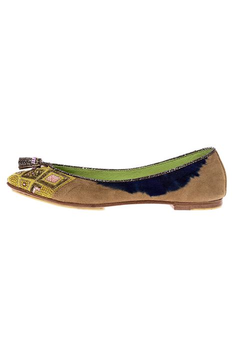 beaded flats meher kakalia beaded point ballet flat from cleveland by