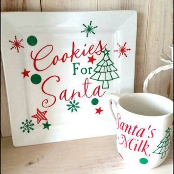 santa for 25 unique cookies for santa plate ideas on