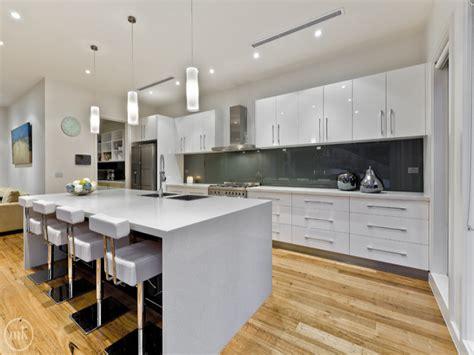 modern open plan kitchen designs modern open plan kitchen design using floorboards