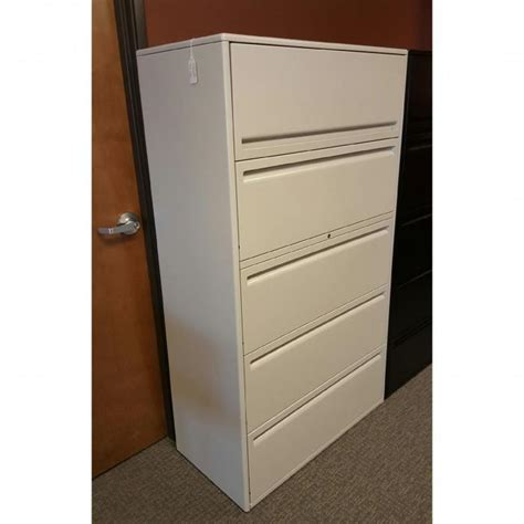 haworth lateral file cabinet used haworth 5 drawer lateral file cabinets 36 quot wide 950