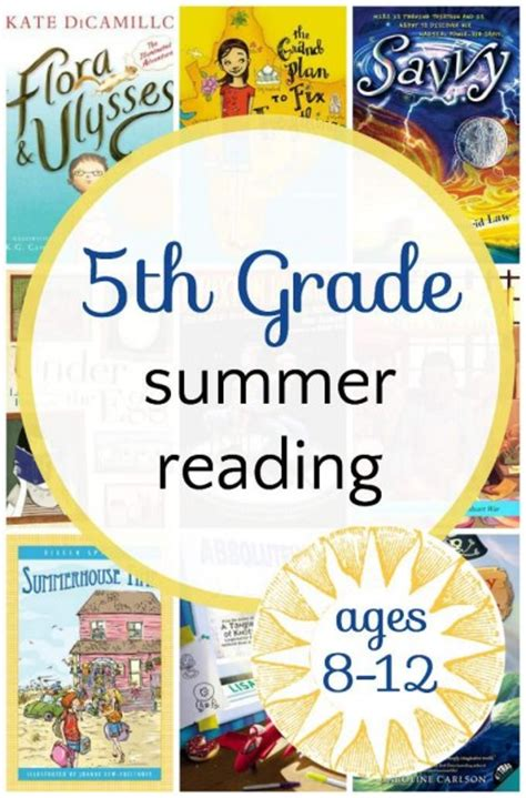 Engaging 5th Grade Summer Reading List