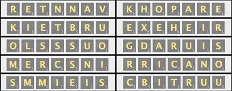scrabble bingo words scrabble challenge 13 can you find the best