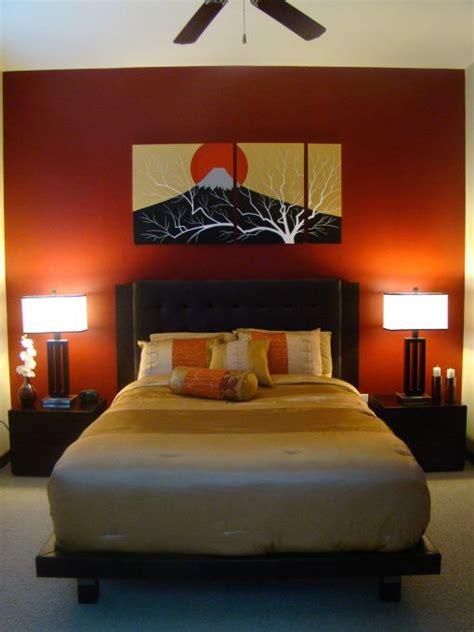 paint colors for zen bedroom white ceiling orange paint wall zen bedroom ideas with