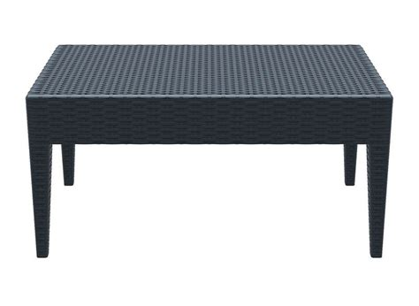 table basse de jardin en r 233 sine tress 233 e achatdesign