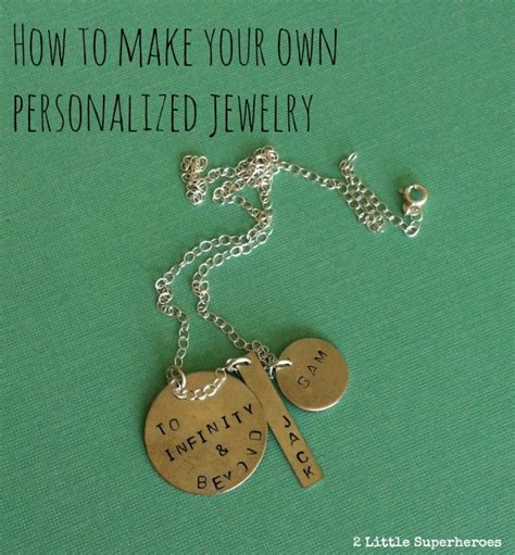 make own jewelry make personalized metal sted jewelry for nunn design