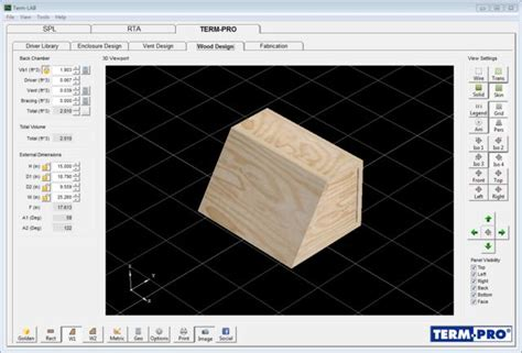 press release term pro enclosure design software released