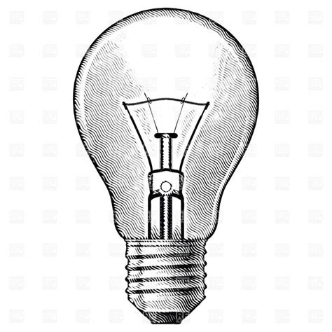 17 best ideas about light bulb drawing on