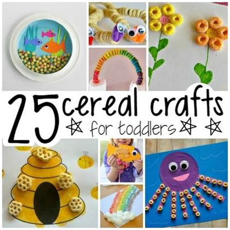 cereal crafts for 25 cereal crafts for toddlers