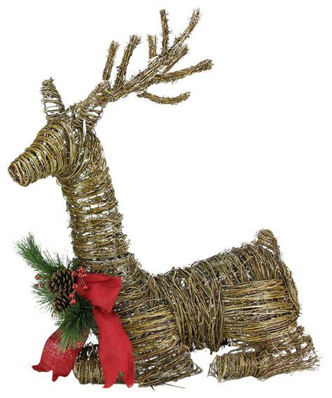 wicker reindeer decorations outdoor rattan reindeer 28 images buy wicker reindeers