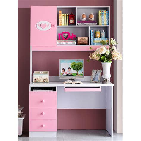 bedroom furniture with desk suite matching pink rectangular desk computer