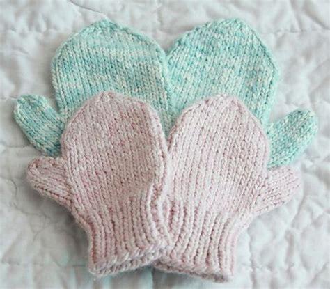 revelry knitting ravelry easy knit mittens pattern by brand yarn