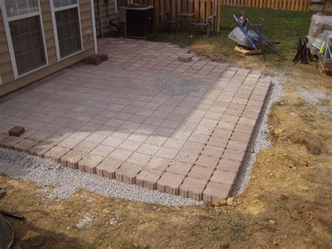 patio designs with pavers 1000 images about paver patio on patio